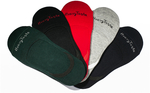 Pack of 5 for $10 No-Show Socks. Free Shipping @ Heavy Taste