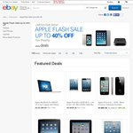 EBAY Apple Sale US Site [UP TO 78% OFF][New and Refurbished Apple Products]