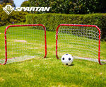 Spartan Twin Soccer Goal Set $9.99 Free Ship with Code@ COTD eBay