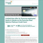 Suncorp Clear Options Platinum Credit Card - $0 Fee for Life