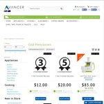 Avancer Cold Press Juicers - $85 Free Shipping