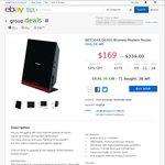NetGear D6300 AC Modem Router $169 Delivered @eBay Group Deals