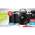 Olympus OM-D E-M10 TLK 14-42mm EZ & 40-150mm $799 (After $100 Cashback) @ Camera House