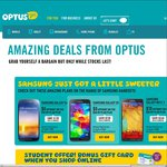 Optus Student Offer, Bonus $50 Visa Card on Sim-Only Plan or $100 Visa Card on 24month Contract
