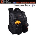 Clearance @XHunter, Black Molle System Backpack w/2 Pouches, 50% Off, $26.47 + Free Postage