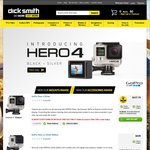GoPro Hero 4 Silver $437.76. Dick Smith, Online Only. $7.95 Postage or Free Click & Collect.