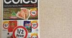 Coles 1/2 Price 10/6 (Vittoria Coffee 1kg $12, Milo 200g $2, Pepsi 1.25l $1.09, Sorbent 12pk $4.50, Four'n Twenty 4pk $4)