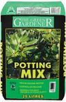 Green Gardener Potting Mix 25 Litre - 2 for $5 @ Woolworths