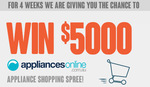 Win One of Four $5000 Shopping Sprees at AppliancesOnline.com.au