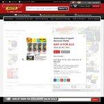 Australian Export Spray Paint 4 for $10 @ Supercheap Auto