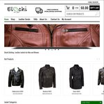 Online Genuine Lamb/Cow Skin Leather Jackets - USD $50 (~AU $70) off on Any Purchase (Free Shipping) @ Elochi.com