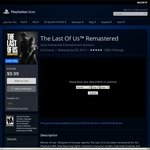 [PS4] The Last of Us Remastered - US$9.99 (~AU$13.11) @ PSN US