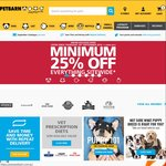Minimum 25% off Code for Petbarn (Excludes Vet Prescription Diet) on Top of Todays 25% off Sitewide