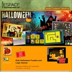 Kids Halloween Puzzles and Games App Full Version $0 (Normally $2.49) iOS, Android, Windows, Mac