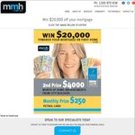 Win $20,000 off Your Mortgage or 20,000 in cash