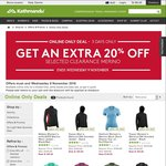 Extras 20% off Selected Clearance Merino - Tolmer Merino Wool Long Sleeve Top $48 C&C / + Delivery @ Kathmandu
