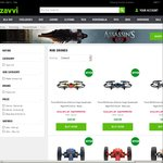 Further 20% off Already Reduced Prices on Parrot Mini Drones @ Zavvi
