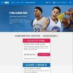 NBA League Pass Annual Subscription 50% off (AUD$124.99)