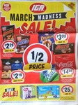 Kettle Chips $2.19, Real Iced Tea 1.25L $1.90, Maxibon/Monaco/Drumstick/Mars Ice Cream $3.99 + More @ IGA