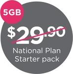 Lebara Mobile (Vodafone 4G) $29.90 Unlimited + 5GB Starter Pack for $4.90 Shipped