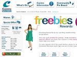 Freebies Reward Program at Centro Shopping Centres