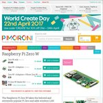Raspberry Pi Zero Wireless £12.70 (~$22) Delivered @ Pimoroni