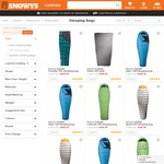 25% off Sea to Summit down Sleeping Bags + FREE Delivery to Most of Australia @ Snowys Outdoors
