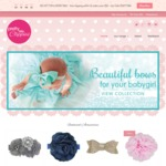 15% off Baby Hair Accessories Storewide until Midnight - Free Oz Shipping for Orders over $50 @ Pretty Little Clippies