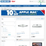 10% off Apple Computers @ The Good Guys (Mac Mini, 1.4Ghz Base Configuration starting $673)