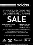 Adidas Second and Samples Sale 23-24/10/10 (VIC)