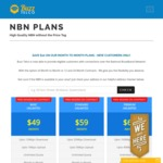 Further $10/Month Discount on Month-to-Month NBN Contracts @ Buzz Telco - from $39/Month for 12/1Mbps Unlimited after Discount