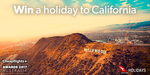 Win a Holiday in California for 2 Worth Up to $7,400 from Cheapflights