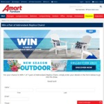 Win 1 of 7 Pairs of Adirondack Replica Chairs Worth $298 from Super A-Mart
