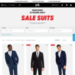Men's Suits on Sale for $99.99 from yd. - Free Shipping or Click& Collect
