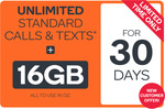 Kogan Mobile XL 30 Day Plan - 16GB Data, Unlimited Calls, Texts for $4.90 @ Kogan [First Month, New Customers]