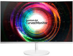"Samsung C27H711QE 27"" LED Curved Monitor 4MS QHD 2560X1440 16:9 HDMI FreeSync VA - $433 Delivered @ Shopping Express eBay"