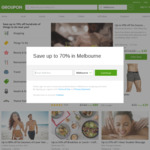 Take between 5% to 30% off Sitewide (Max $40 Discount), Unlimited Number of Redemptions @ Groupon