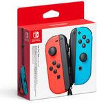 Nintendo Switch Joy-Con Neon Red & Blue Controller Set $85.50 Delivered @ The Gamesmen on eBay