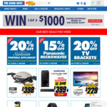 Win 1 of 5 $1000 Easter Shopping Sprees from The Good Guys
