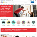 $10 eBay Voucher for Linking Flybuys Card with eBay Account