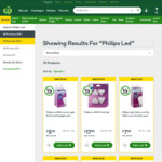 ½ Price Philips LED Globes | 806 Lumen $5.00 | 1400 Lumen $7.50 | Mr16/Gu10 4pk $17.50 | @ Woolworths