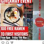 [QLD] Free Ramen (First 100 Customers) at Nom Nom Korean Eatery (Fortitude Valley) Starting 6pm Fri 11th May