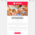 [VIC/NSW] Eatclub: Join via Referral and Get a Free Meal