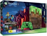 Xbox One S 1TB Minecraft Limited Edition Console with Minecraft Full Game $199 ($179 for New Customers) @ Amazon AU