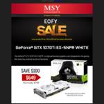 [VIC] GALAX Nvidia 1070 Ti 8GB EX Sniper (White) RGB Video Card - $519 @ MSY Clayton (In Store Promotion)