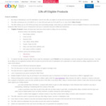 TA/OzBargain eBay Exclusive - 11% off Sitewide on Brand New Fixed Price Items ($100 Min Spend, June 11 - 11am to 11pm)