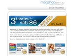 Selected Magazines - Magshop : 3 issues for only $6 : save up to 83%