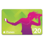 iTunes Gift Cards BigW 1 Day Only 2 $20 Cards for $30 Free Shipping