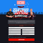 Win 'Australia's Greatest Low & Slow Barbeque' Street Party for 200 Worth Up to $30,000 from SCA [NSW/QLD/SA/VIC/WA]