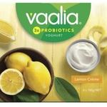 ½ Price Vaalia Yoghurt 150gm 4pk $2 @ Coles